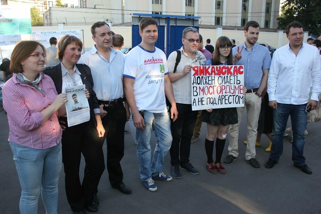 Независимые кандидаты в Мосгордуму