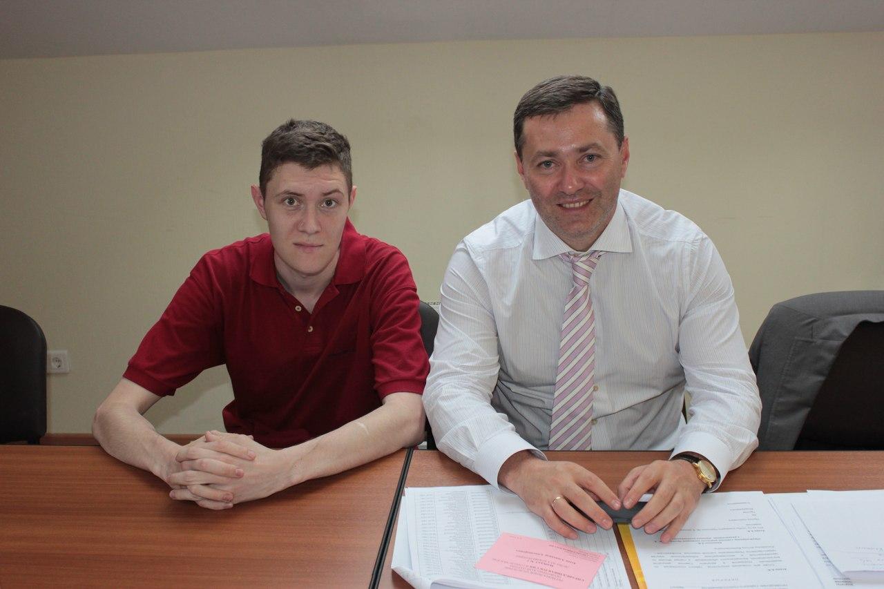 Денис Стяжкин и Александр Агеев