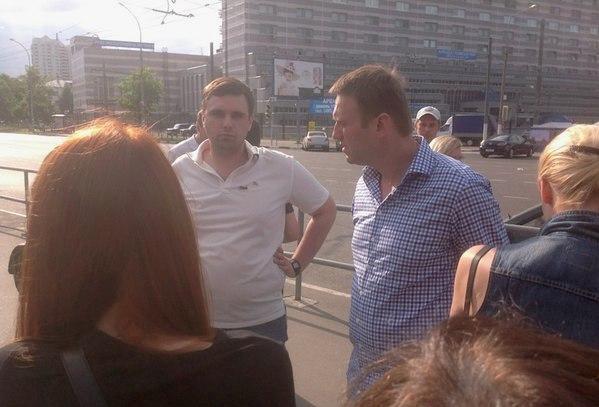 Константин Янкаускас и Алексей Навальный