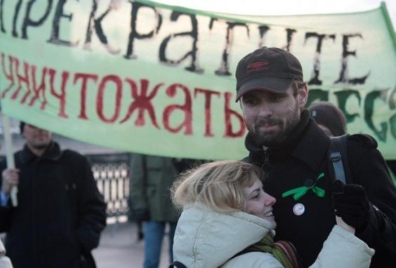 Константин Янкаускас и Ольга Горелик