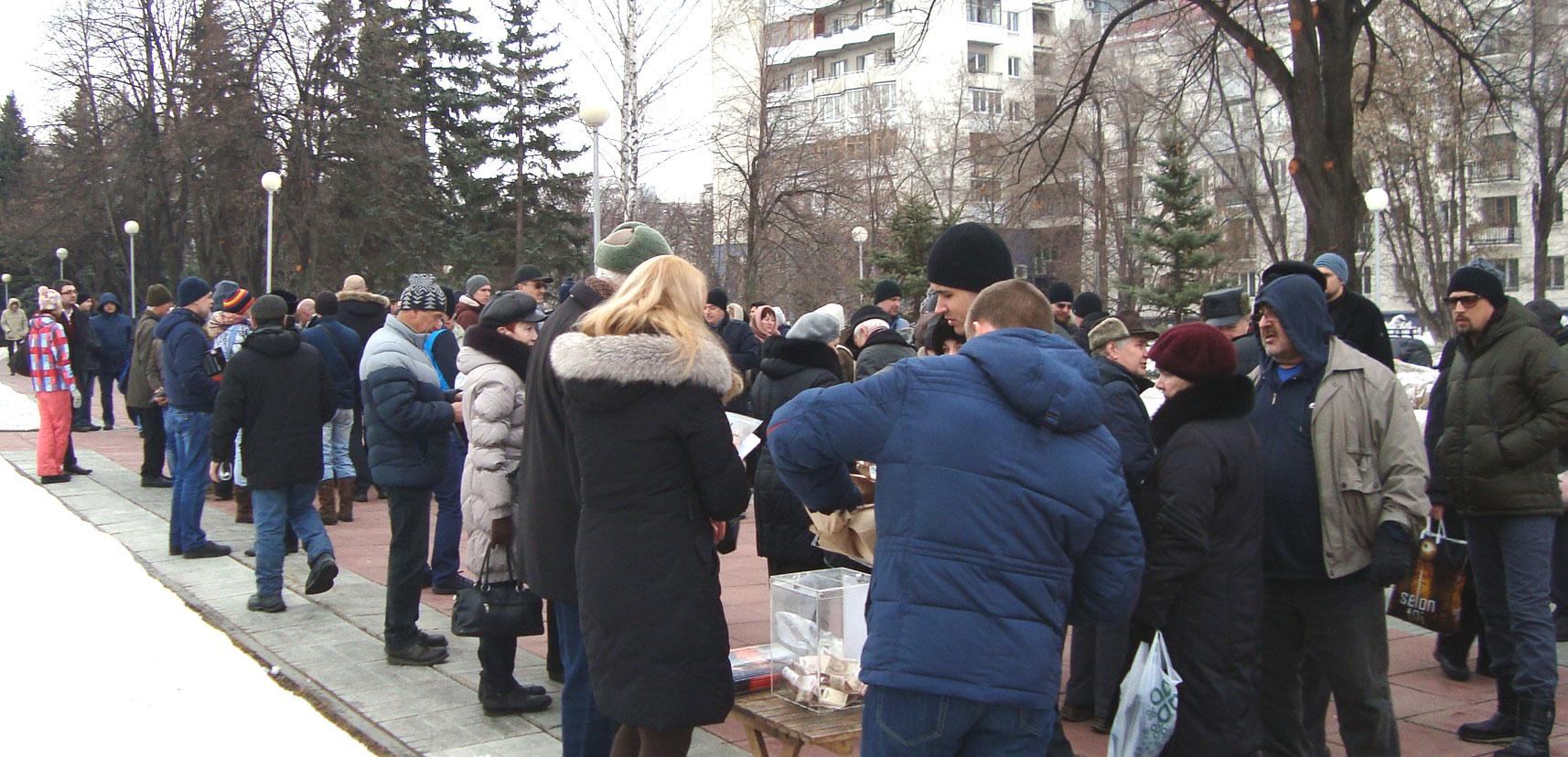 Митинг памяти Бориса Немцова в Самаре