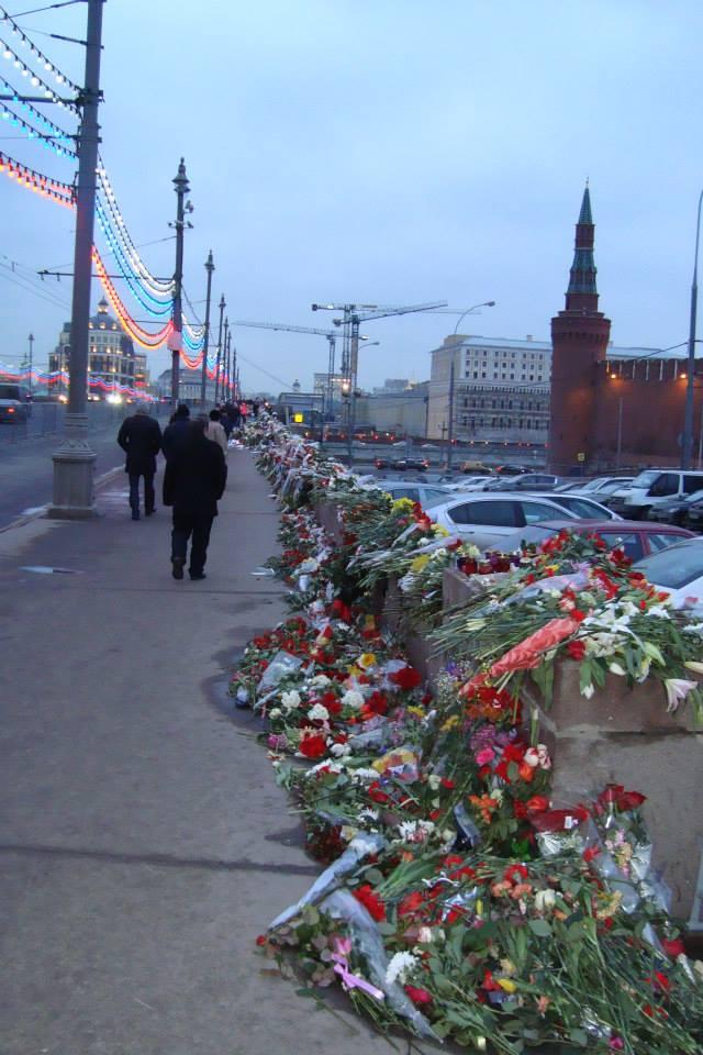 Парапет Большого Москворецкого моста