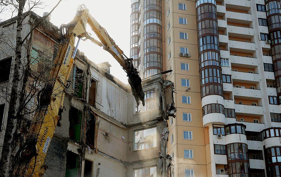 Снос домов. Фото ТАСС (Сергей Фадеичев)