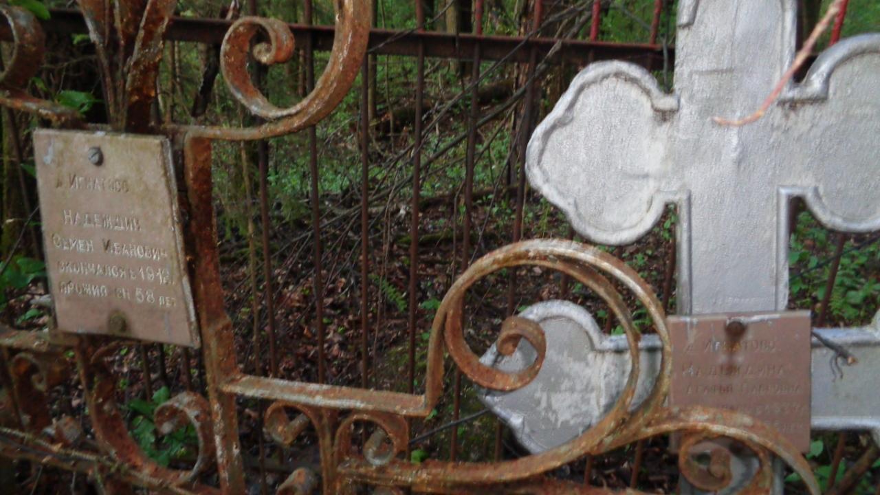 Старое кладбище рядом с деревней Лисинцево