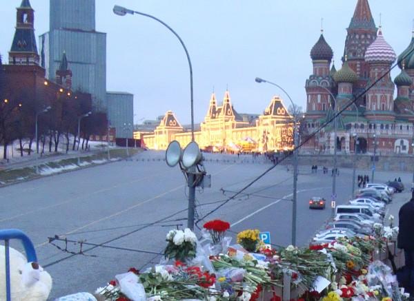 Вид на Красную площадь с Большого Москворецкого моста