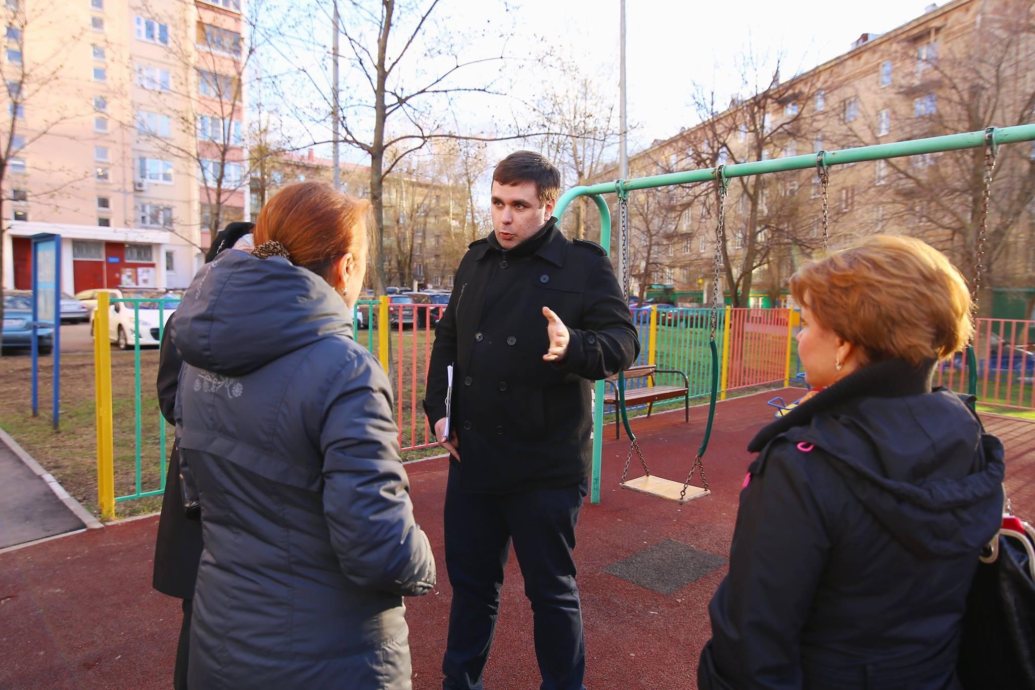 Встреча Константина Янкаускаса с жителями Зюзина