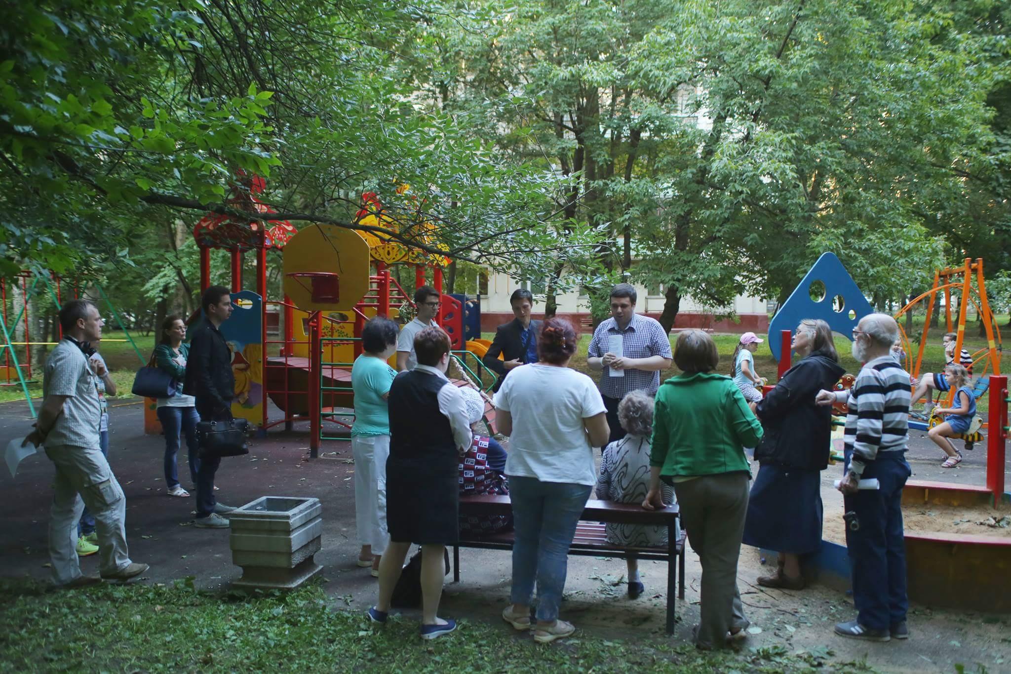 Встреча Константина Янкаускаса с жителями Зюзино