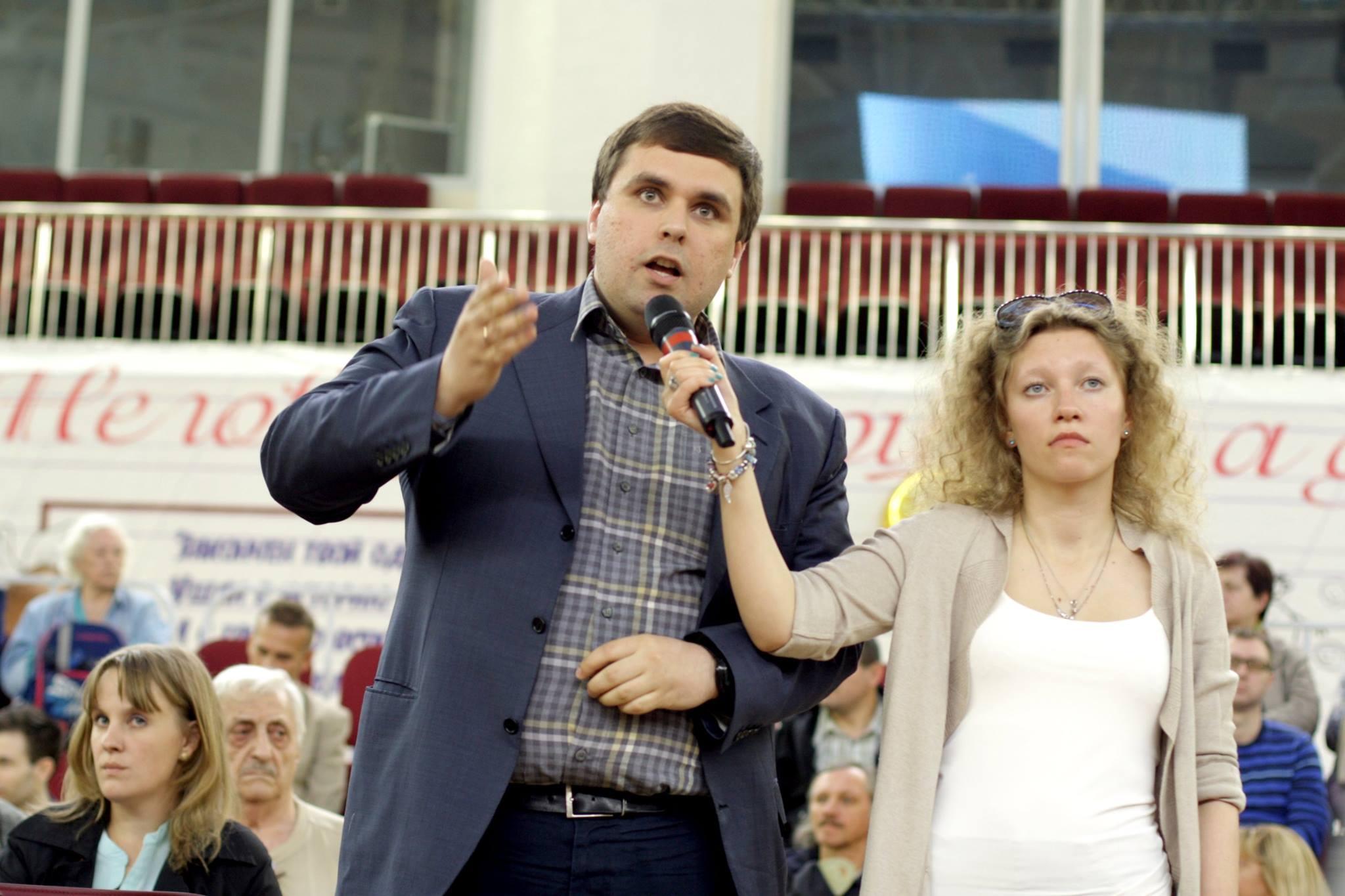 Выступление Константина Янкаускаса на встрече префекта ЮЗАО с жителями Теплого Стана