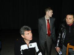Борис Немцов и Денис Стяжкин