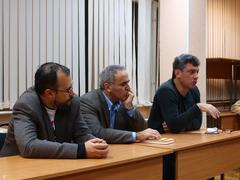 Денис Билунов, Гарри Каспаров и Борис Немцов на форуме Последняя Осень. Фото Александра Залесского
