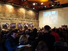 Гражданская панихида по Борису Немцову в Сахаровском центре