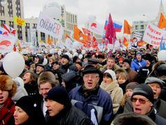 Митинг на проспекте Академика Сахарова 24 декабря 2011 года