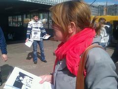 Юлия Галямина в пикете за Таисию Осипову