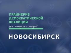 Праймериз Демократической коалиции в Новосибирске