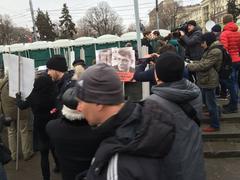 Траурное шествие памяти Бориса Немцова. Подготовка