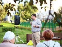 Выступление Константина Янкаускаса на встрече с избирателями