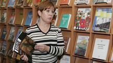 Директор Библиотеки украинской культуры Наталья Шарина