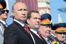 Парад Победы 9 мая 2014 г. на Красной площади, фото - softmixer.ru