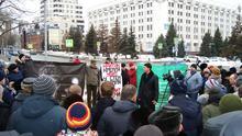 Выступление на митинге памяти Бориса Немцова в Самаре