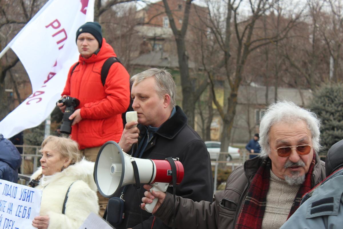 Выступление Бориса Батыя на митинге памяти Бориса Немцова